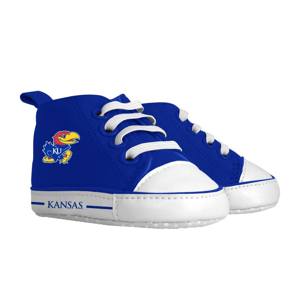 NCAA Kansas Jayhawks Pre-Walker Hightop Sneakers 0-6M
