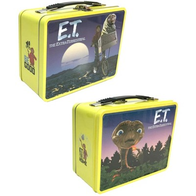 Factory Entertainment ET The Extra Terrestrial 8.5 x 6.5 x 4 Inch Retro Style Tin Tote