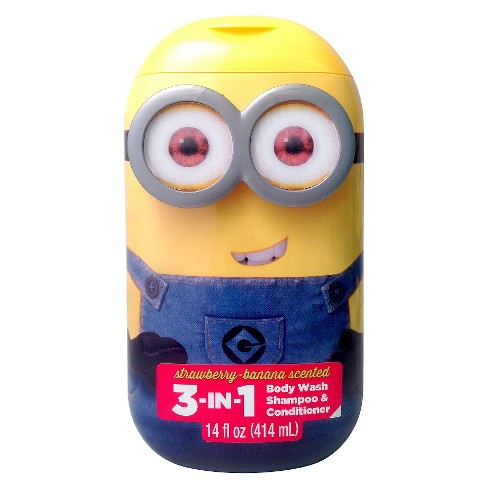 Minion 3-in-1 Body Wash - 14 oz (Assorted) - image 1 of 2