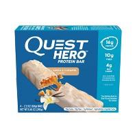 4ct Quest Hero Protein Bar Vanilla Caramel