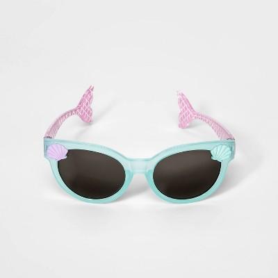 Toddler Girls' Mermaid Tail Sunglasses - Cat & Jack™ Aqua