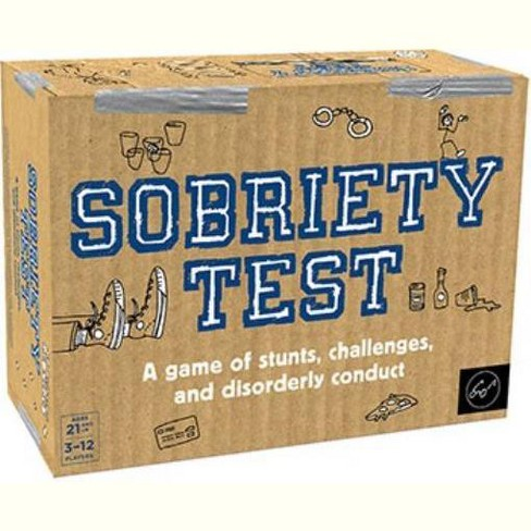 Sobriety Test Board Game - image 1 of 1