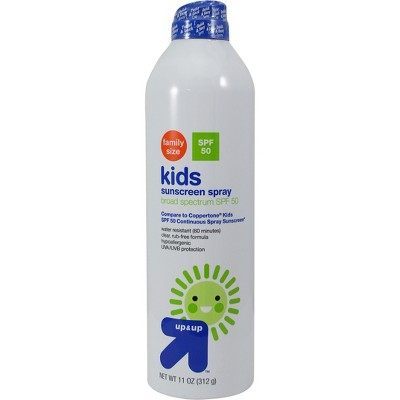 Kids Continuous Sunscreen Mist Spray SPF 50 - 11oz - Up&Up™