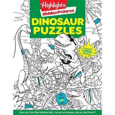 Dinosaur Puzzles - by Highlights (Paperback)