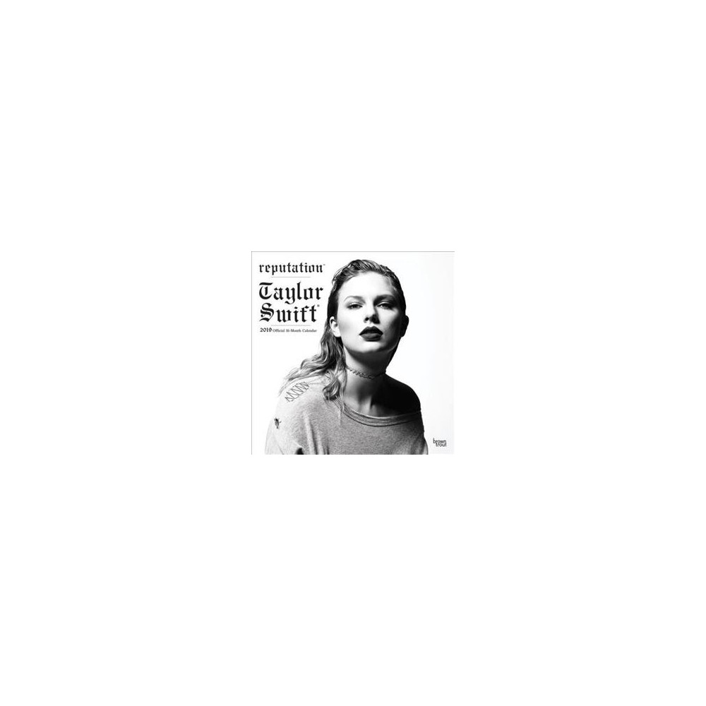 Taylor Swift 2019 Calendar - (Paperback)