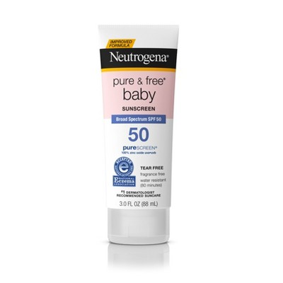 Neutrogena Pure & Free Baby Sunscreen Lotion - SPF 50 - 3 fl oz
