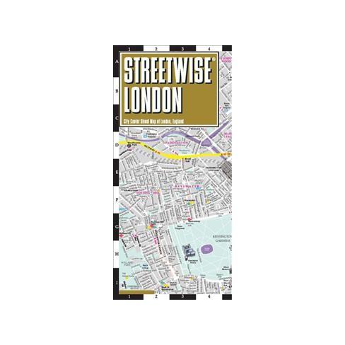 Streetwise London Map City Center Street Map Of London England