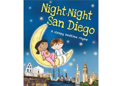 Night-Night San Diego -  by Katherine Sully (Hardcover) - image 1 of 1