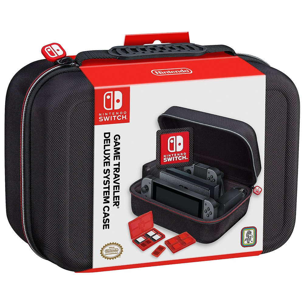 Nintendo Switch Game Traveler Deluxe System Case, Black