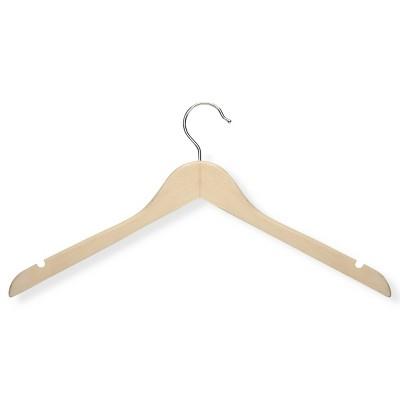 Honey-Can-Do Basic Shirt Hanger - Maple (20pk)