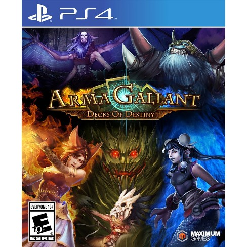 ArmaGallant: Decks of Destiny PRE-OWNED - PlayStation 4 - image 1 of 1