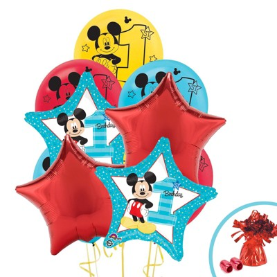 Birthday Express Mickey Mouse 1st Birthday Balloon Bouquet