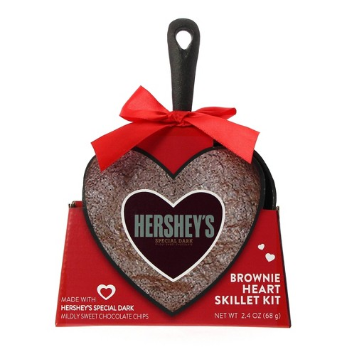Hershey's Valentine's Day Brownie Heart Skillet Kit - 2.4oz - image 1 of 1