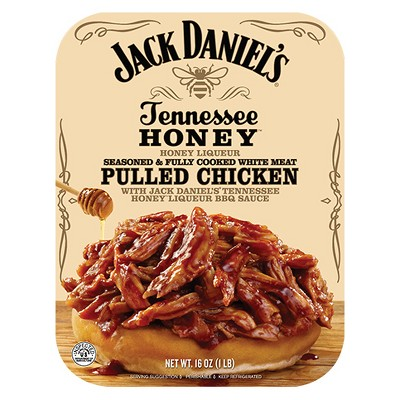 Jack Daniel's Tennessee Honey Pulled Chicken - 16oz