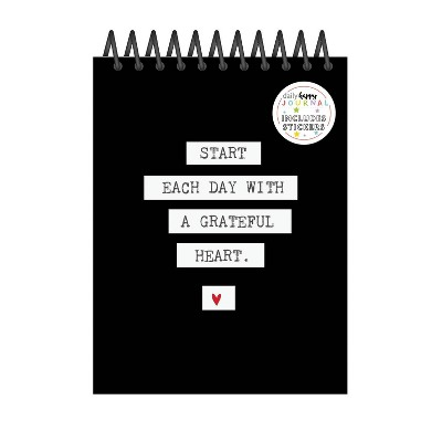 Lined Journal Happy Tracker Grateful - fitlosophy