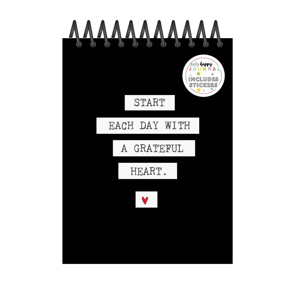 Image of Lined Journal Happy Tracker Grateful - fitlosophy