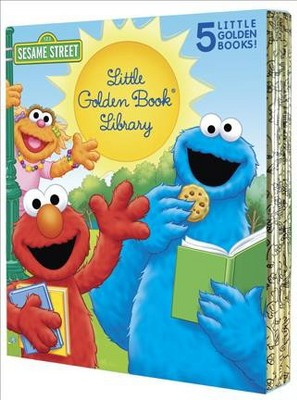 Sesame Street Little Golden Book Library - by Sarah Albee & Constance Allen (Hardcover)