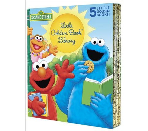 Sesame Street Little Golden Book Library -  by Sarah Albee & Constance Allen (Hardcover) - image 1 of 1