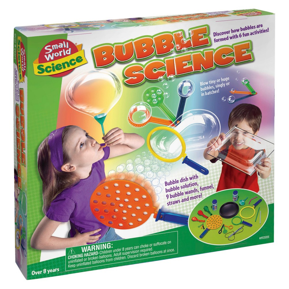 Small World Toys Bubble Science Small World Toys Bubble Science