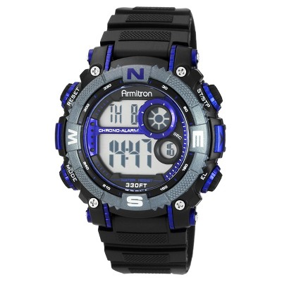 Armitron Men's Chronograph Watch - Blue