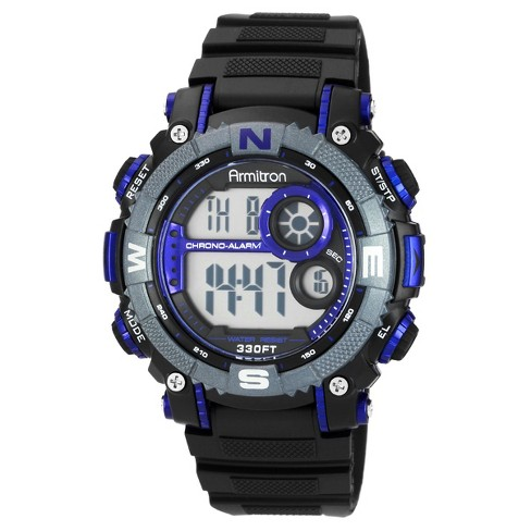 Armitron Men's Chronograph Watch - Blue - image 1 of 1