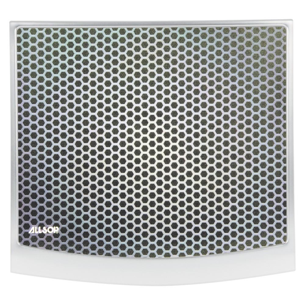 Image of Allsop Redmond Mouse Pad, 10 3/4 x 12 x 1/2, Gray/Black