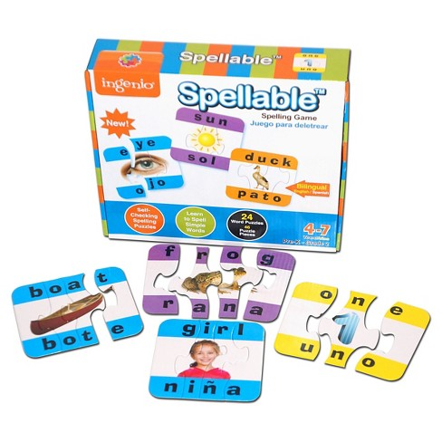 Smart Play Spellable Spelling Puzzle 24pc - image 1 of 2