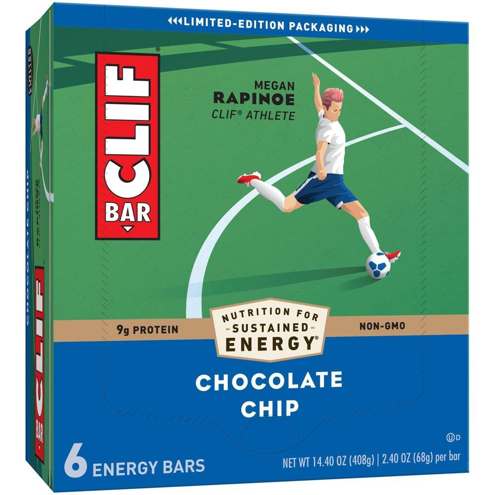 Clif Bar Chocolate Chip Energy Bars 6ct