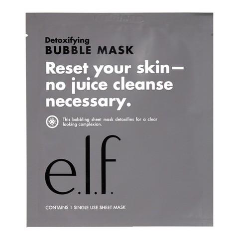 e.l.f. Detoxifying Bubble Face Mask Sheet - image 1 of 3