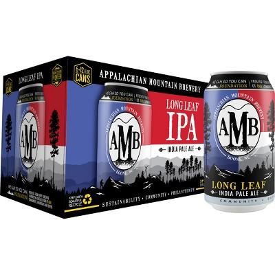 Appalachian Mountain Long Leaf IPA Beer - 6pk/12 fl oz Cans