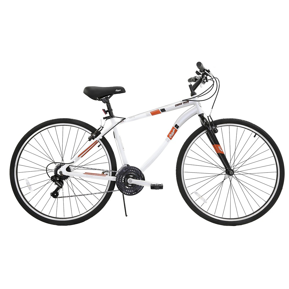 Columbia Men's Cross Train 700c Mountain Bike - Pearl White, Silver