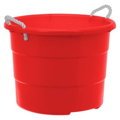 Plastic Rope Tub 18gal - Red