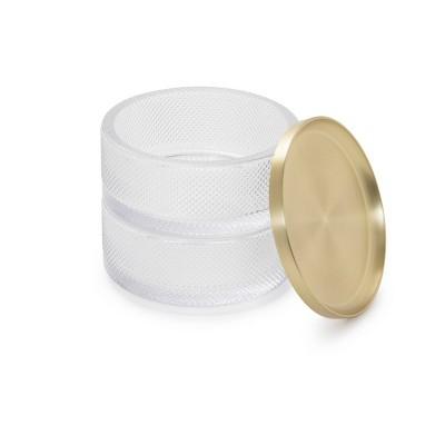 Tesora Jewelry Box Brass - Umbra