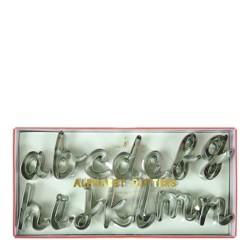Meri Meri - Alphabet Cookie Cutters - Cookie Cutters - 27ct