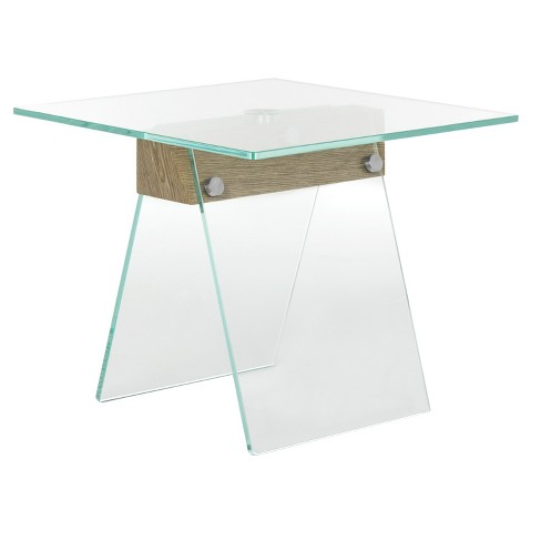 Modern Loft Side Table - Clear - Safavieh® - image 1 of 4
