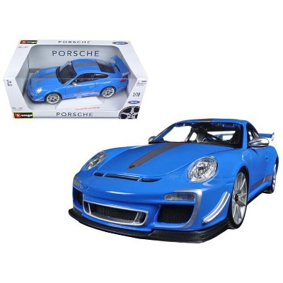 1:18 MAISTO PORSCHE 911 GT3 RS 4.0 BLUE BNIB DIECAST SPECIAL EDITION