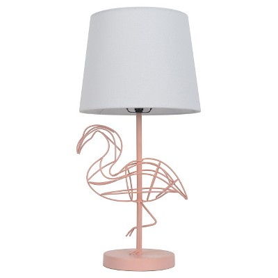 Pink Flamingo Wire Figural Table Lamp (Includes CFL Bulb)- Pillowfort™