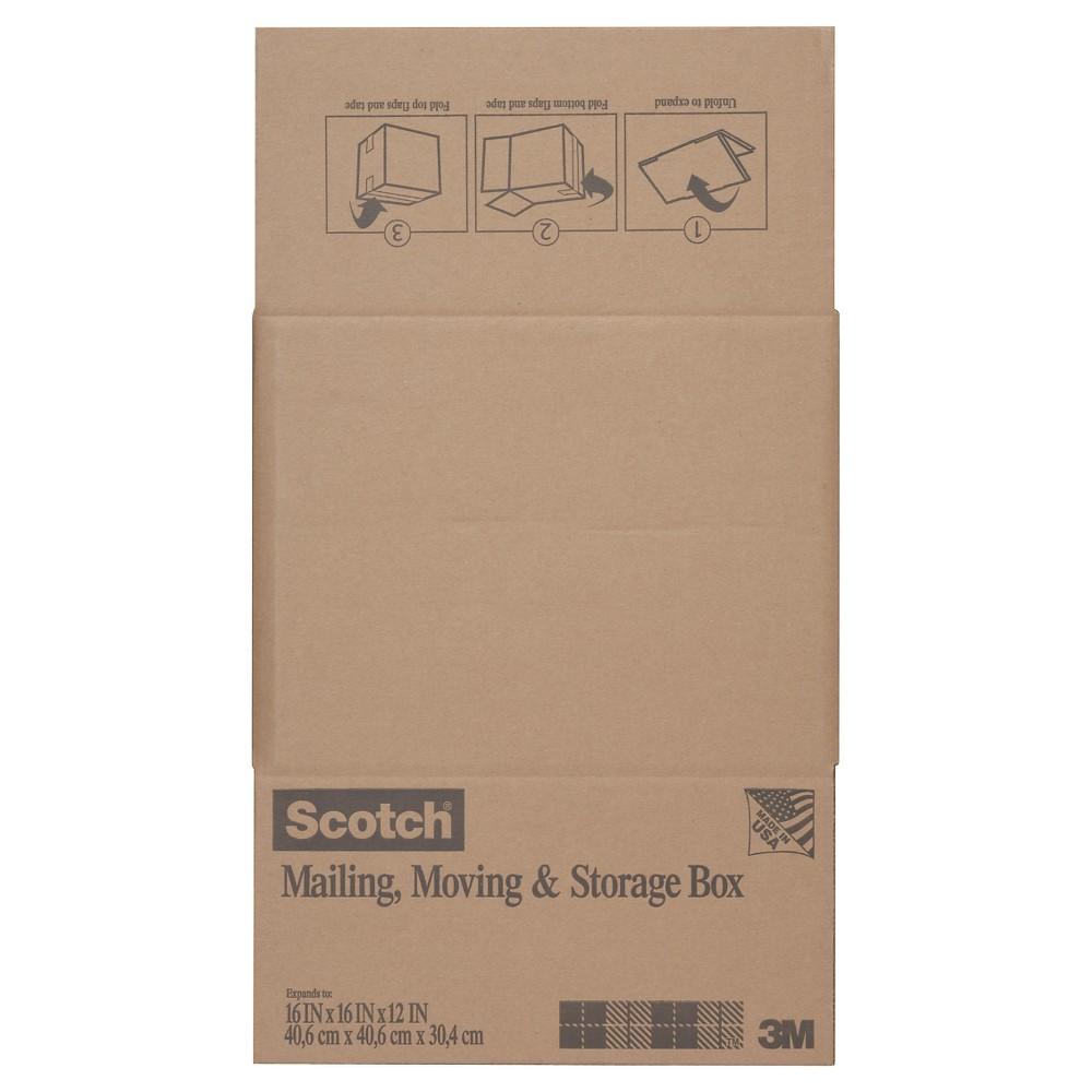 Scotch Box, 16 x 16 x 12 - Brown