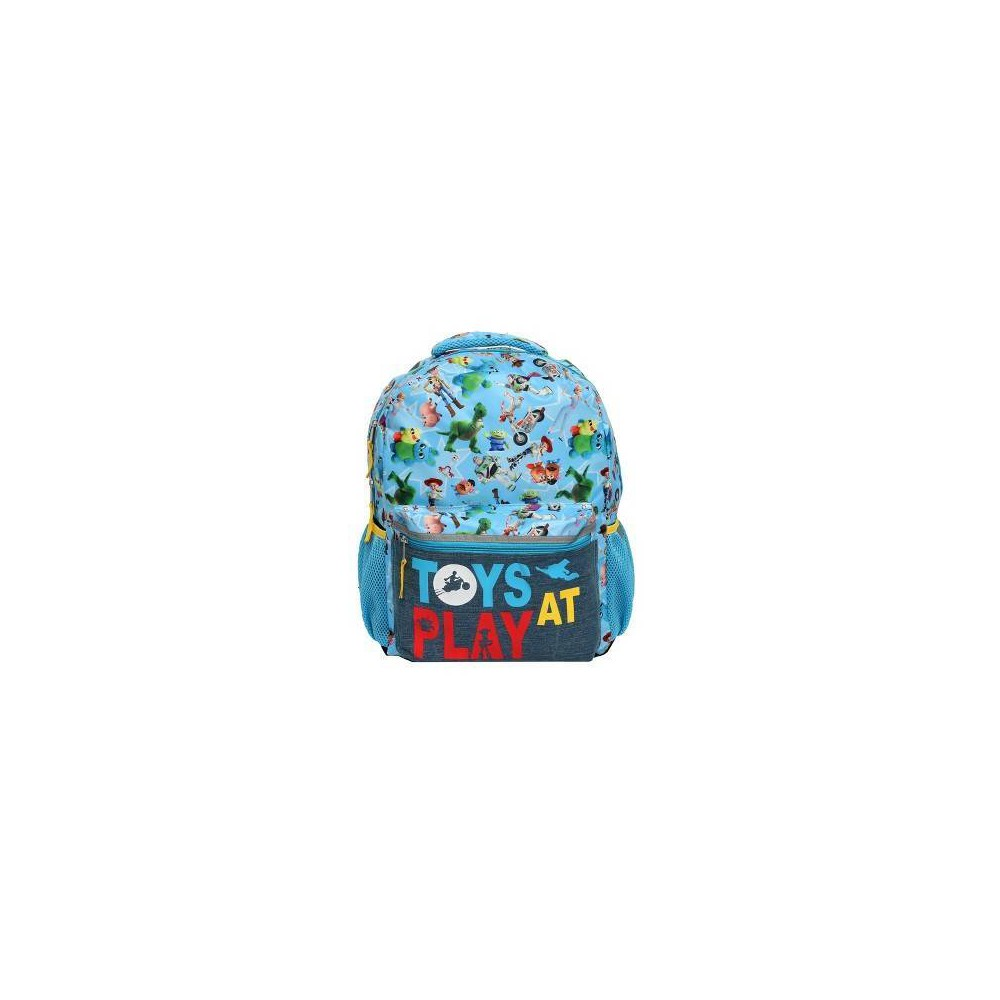 "Disney Toy Story 4 16"" Kids' Toys At Play Backpack - Blue"