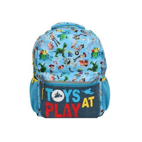 """Disney Toy Story 4 16"""" Kids' Toys At Play Backpack - Blue - image 1 of 5"""