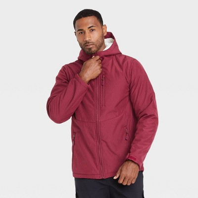 Men's Sherpa Softshell Jacket - All in Motion™ Red