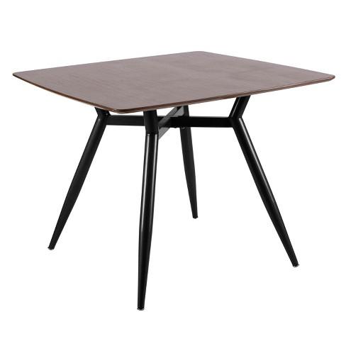 Clara Mid Century Modern Square Dining Table - LumiSource - image 1 of 4