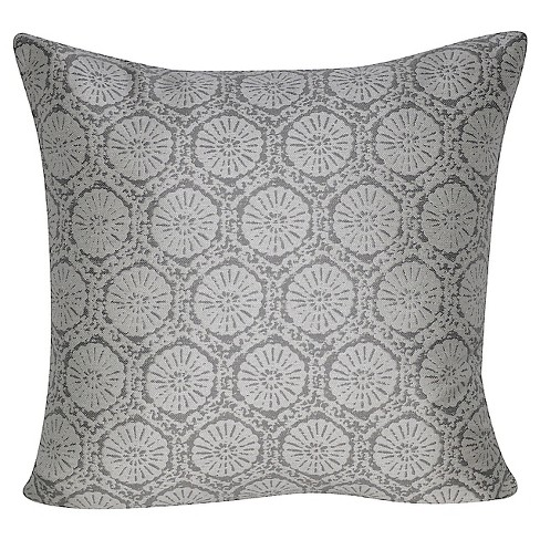Indoor/outdoor Stamped Throw Pillow - Loom and Mill - image 1 of 2