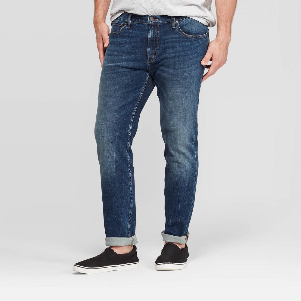 Men 39 S Tall Slim Fit Skinny Jeans Goodfellow 38 Co 8482 Medium Vintage Denim Wash 40x36