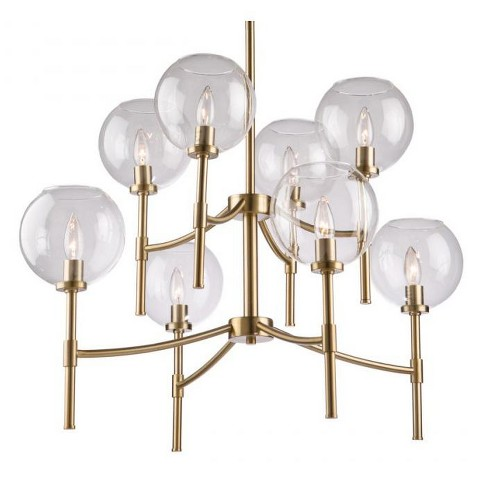 "Artcraft Lighting SC13128 Hamilton 8 Light 34"" Wide Chandelier - image 1 of 4"