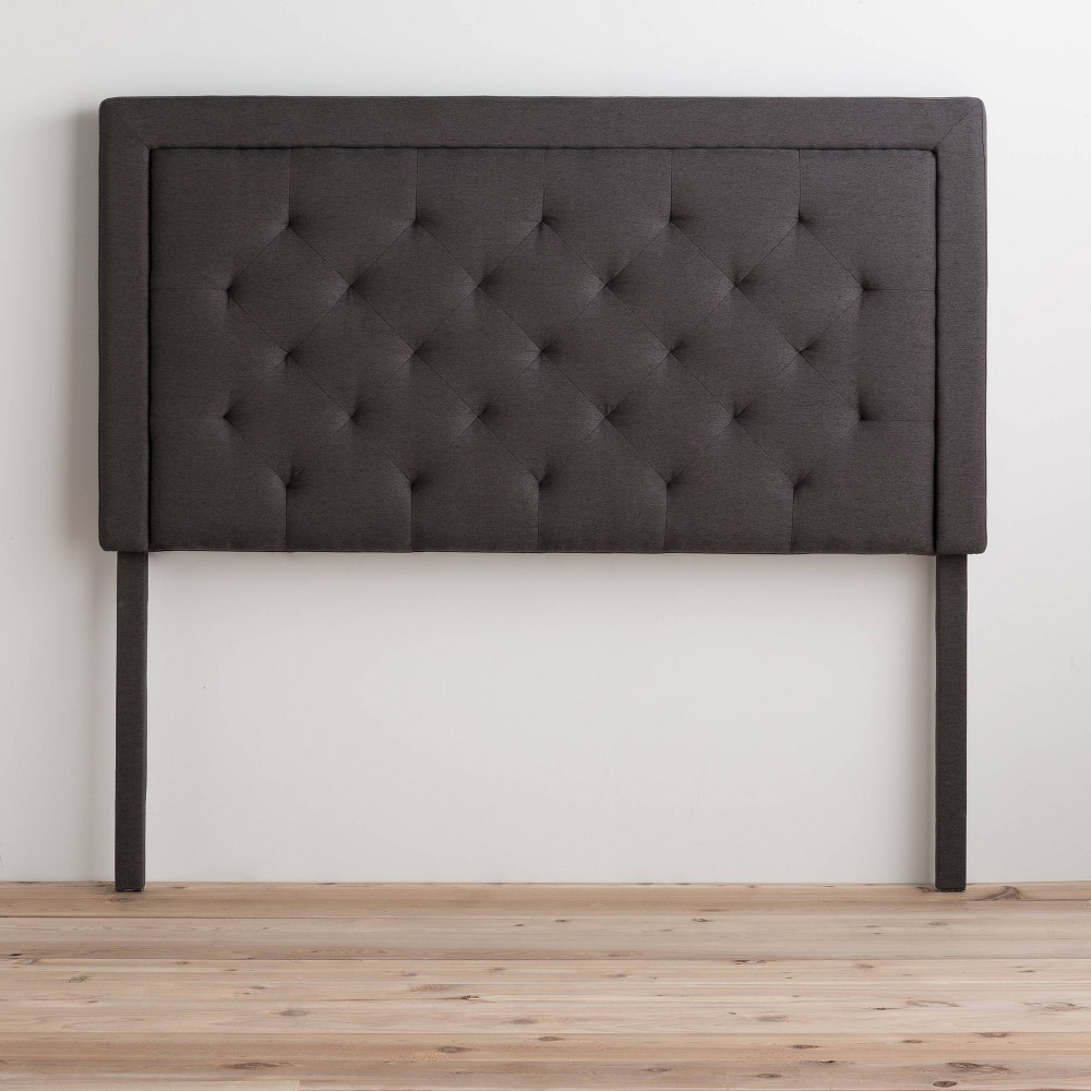 Coupons Upholstered Headboard with Diamond Tufting  - Brookside