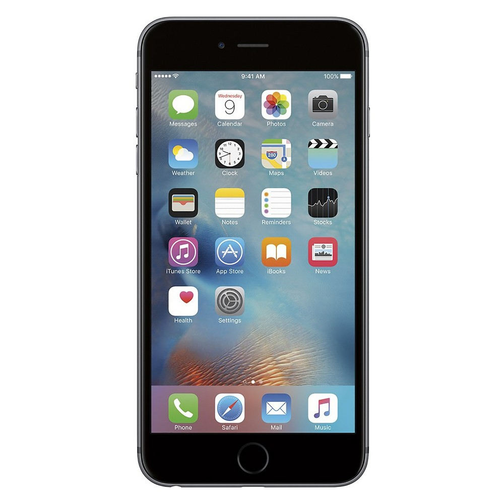 Apple iPhone 6s Plus Pre-Owned (Gsm Unlocked) 64GB Smartphone - Space Gray