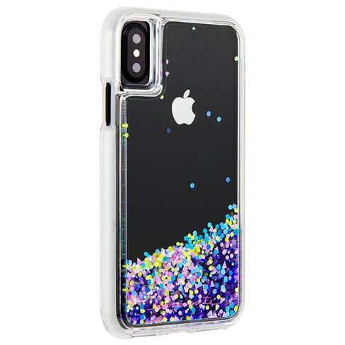 timeless design 80b70 d9697 Case-Mate iPhone X Case Waterfall Glow - Purple
