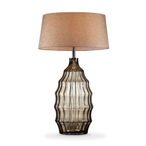 OK Lighting Tidal Sand Glass Table Lamp - image 1 of 3