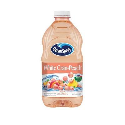 Ocean Spray White Cran-Peach Juice Drink - 64 fl oz Bottle